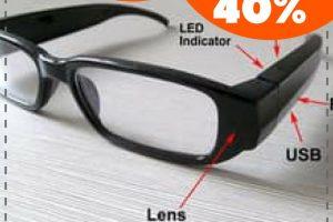 Kaca Mata Kamera Pengintai